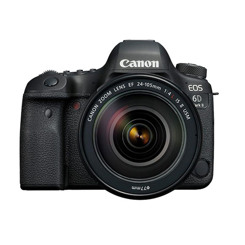 佳能(Canon)EOS 6D2(24-105 f/4L IS II USM)全画幅数码相机专业单反套装像素约2620万