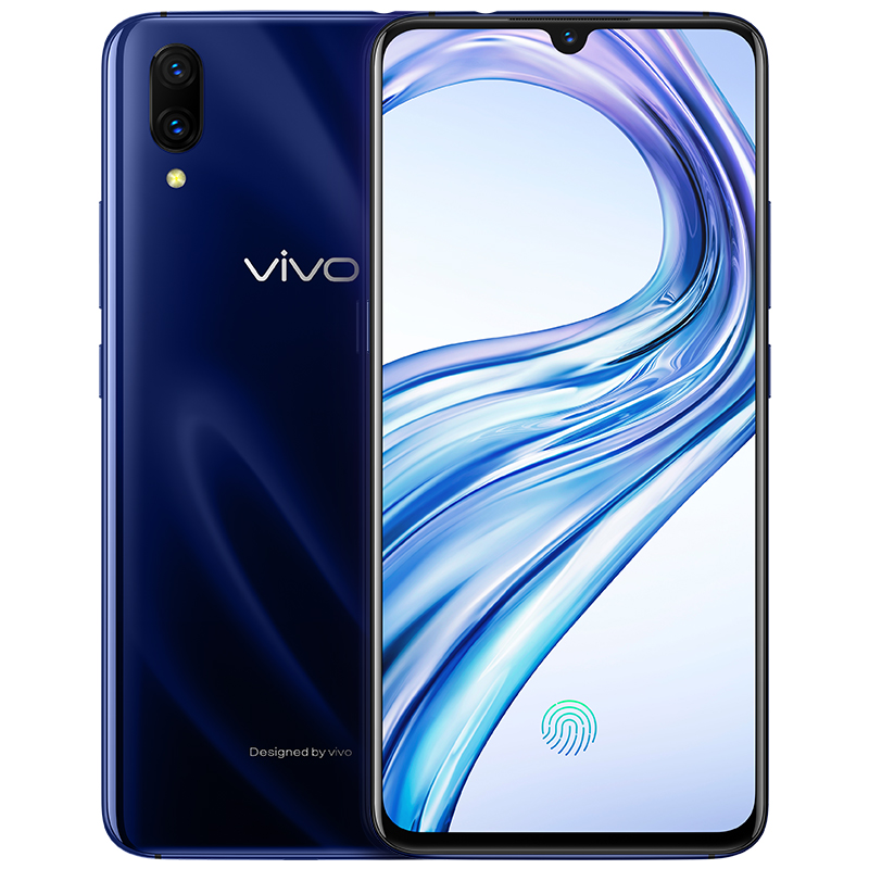 vivoX23 8+128GB 幻夜蓝 全网通4G 双卡水滴屏全面屏手机 AI非凡摄影 超大广角发现更多美