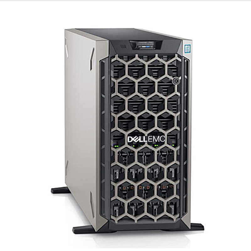 戴尔(DELL) T640 塔式服务器主机铜牌3104丨1颗丨6核1.7Ghz 16G内存|3*2T SAS硬盘|H330|495W电源