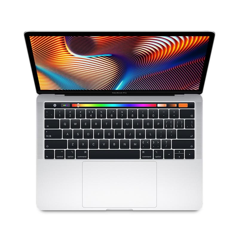 2018款 Apple MacBook Pro 13.3英寸 笔记本电脑 银色(2.3GHz 四核 Intel Core i5 8GB内存 256GB固态硬盘 MR9U2CH/A)