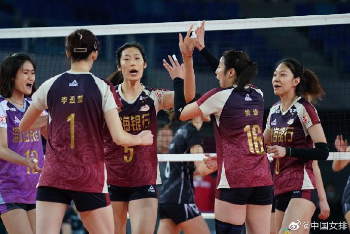 李盈莹朱婷每局得分榜居前二 张常宁总得分榜首