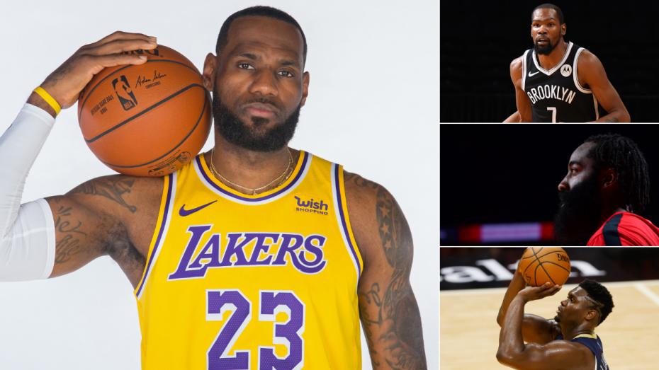 NBA 2020/21赛季各球队估值、社交媒体粉丝、赞助商一览