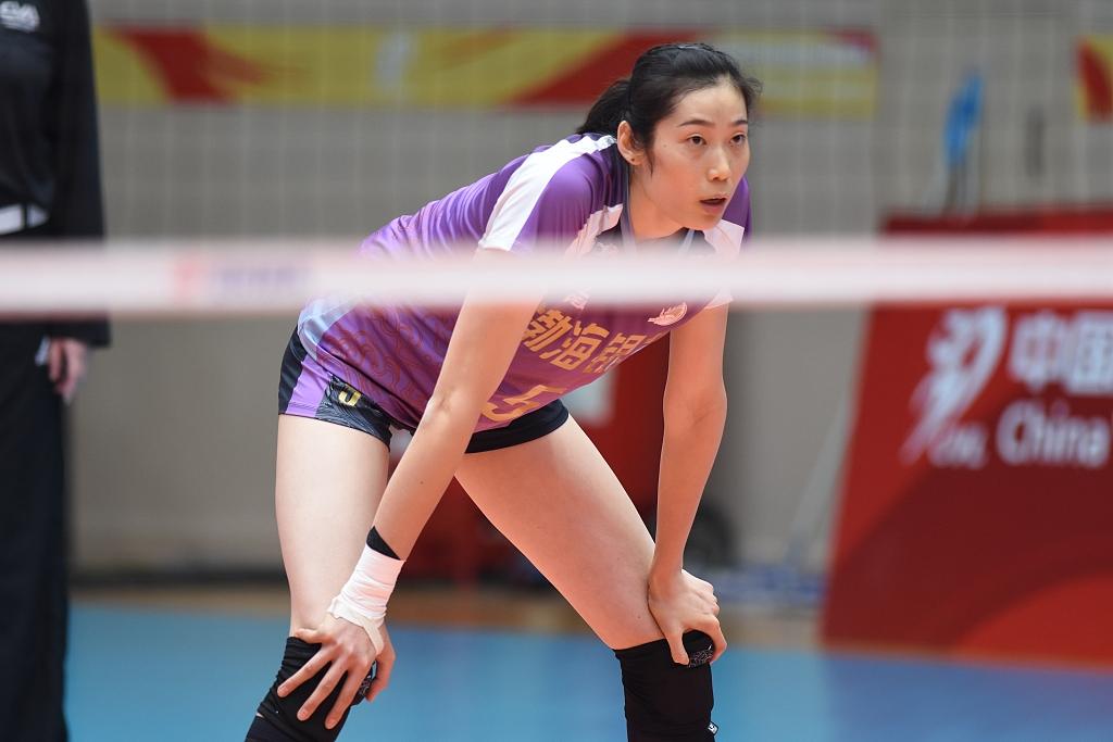 备受瞩目的河南女排名将朱婷将不参与本次全锦赛