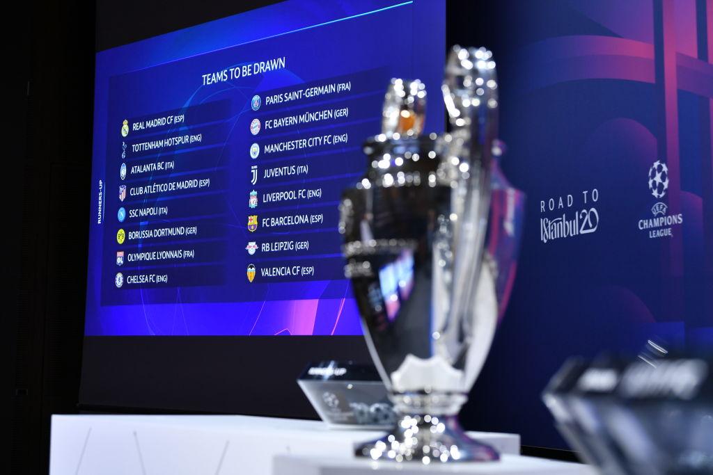 影响加倍?曝欧足联有意扩军欧冠至36队 8强战初步单场淘汰制