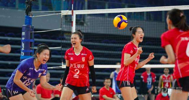 2020-21中国女排超级联赛继续在江门体育中心展开
