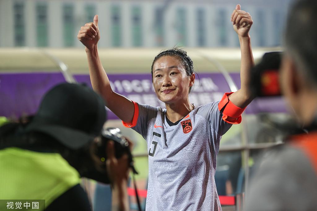 第7次带队出征洲际大赛 女足队长心中只有球队