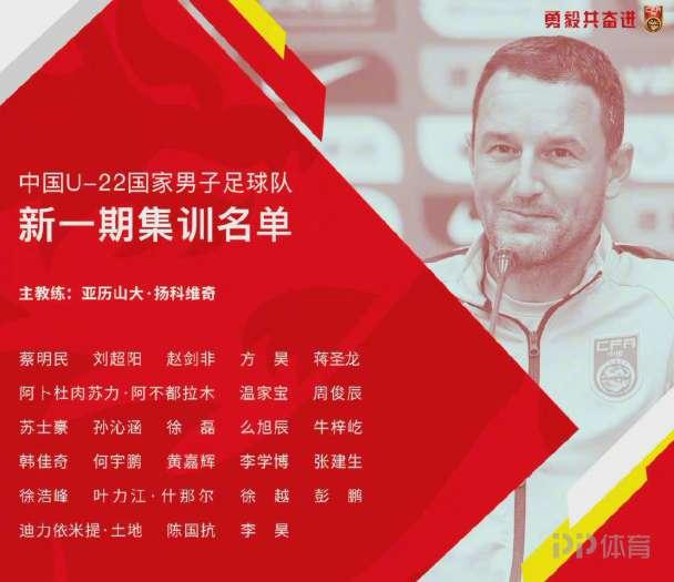 U23亚洲杯预赛今年10月打响 中国无缘种子队列东亚区第二档