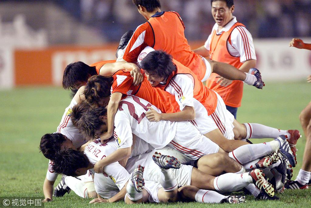 国足亚洲杯故事2004:刘云飞封神不忘蔑视日本
