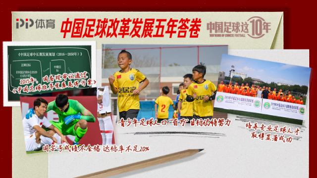 《中国足球这10年》中国足球改革发展五年答卷