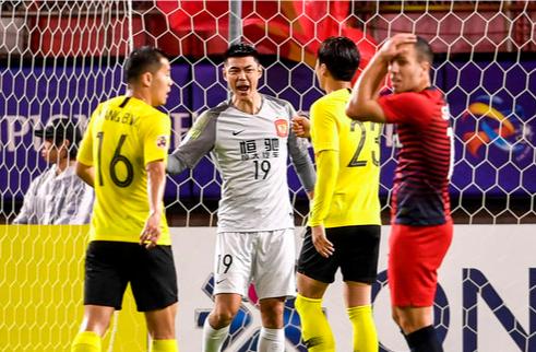 亚冠1/4决赛次回合-广州恒大1-1鹿岛鹿角