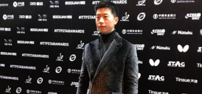马龙三夺国际乒联年度最佳男运动员
