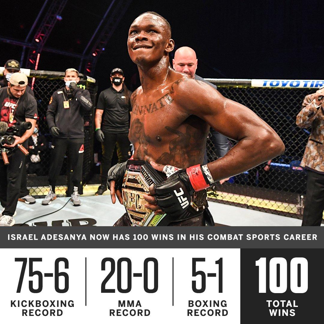 2020年9月27日UFC253期 – 直播[视频] Adesanya vs. Costa