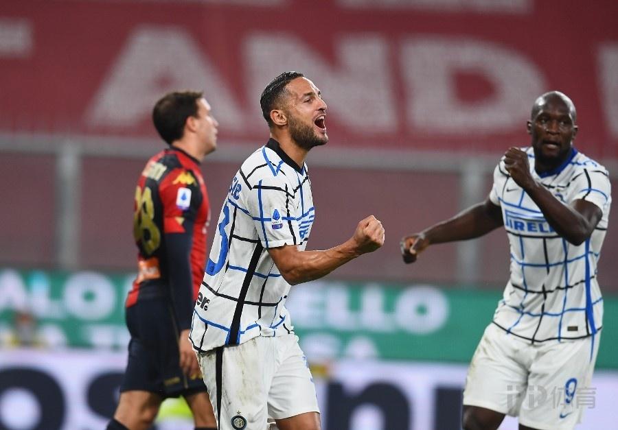 卢卡库连场破门国米2-0热那亚 孔蒂:咱们开场就掌控了比赛