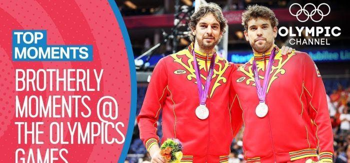 奥运哇时刻丨奥运赛场上的亲兄弟组合