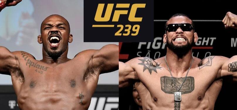 2019年7月7日UFC239 骨头琼斯vs桑托斯 [视频] Jones vs. Santos
