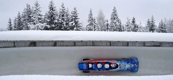 冰上F1雪车:发力机会仅一次 剩下的交给重力