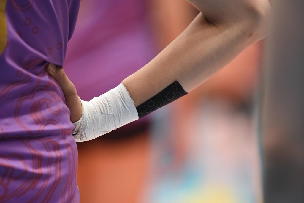 朱婷被要求八周不能碰球 以求完全养好屡次受伤的手腕