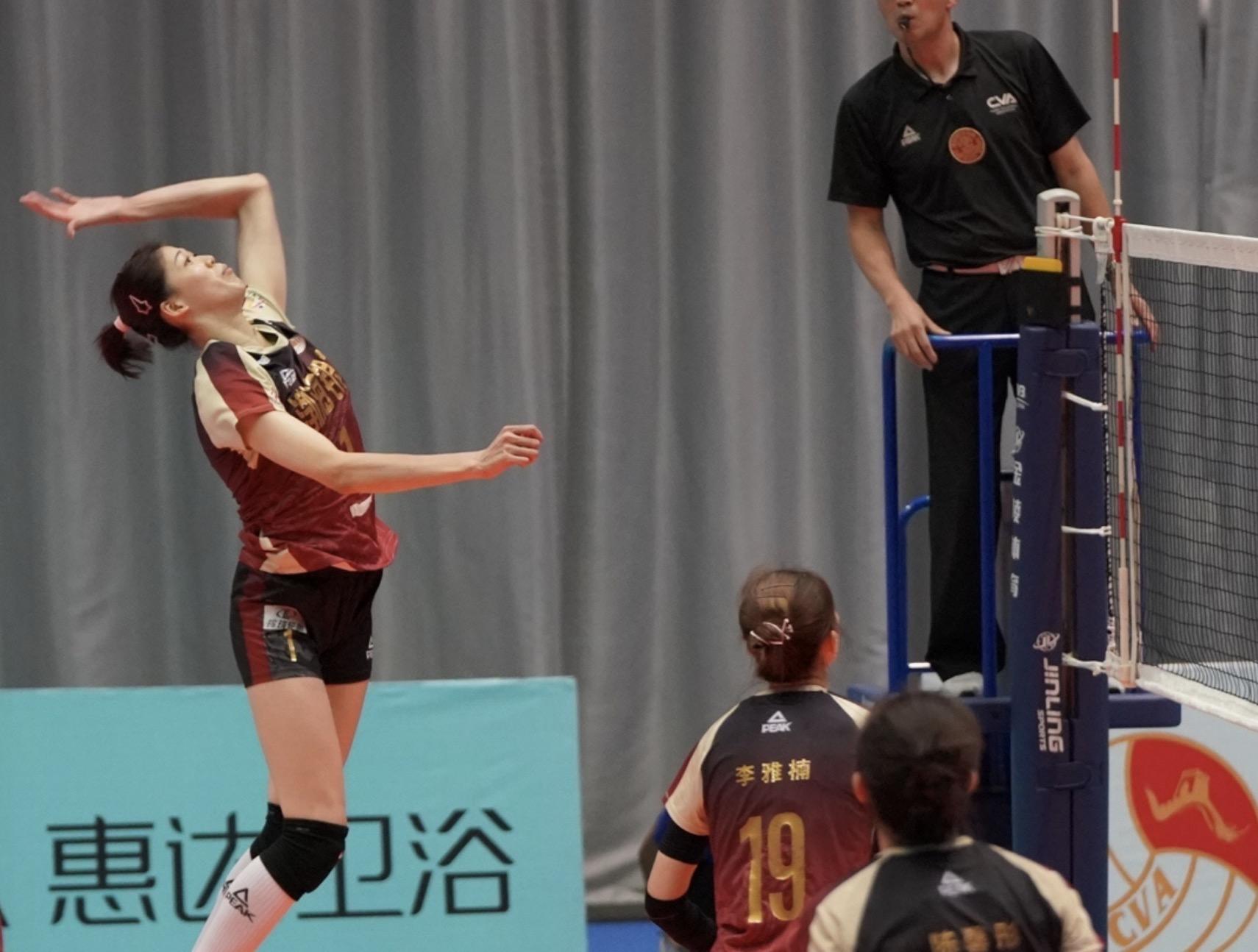 天津女排将面临争冠的直接竞争对手上海女排