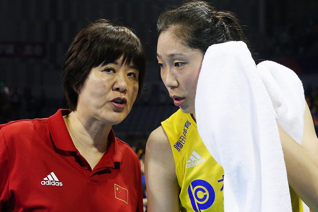 郎平承认带队至东京奥运会结束 下一年1月新集训在京打开